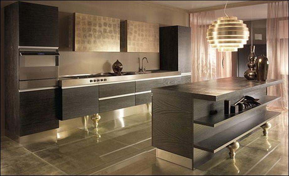 Стильные современные дизайны кухонь